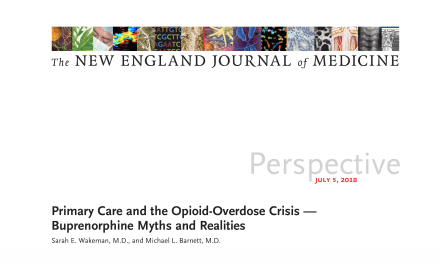 Primary Care and the Opioid-Overdose Crisis — Buprenorphine Myths and Realities