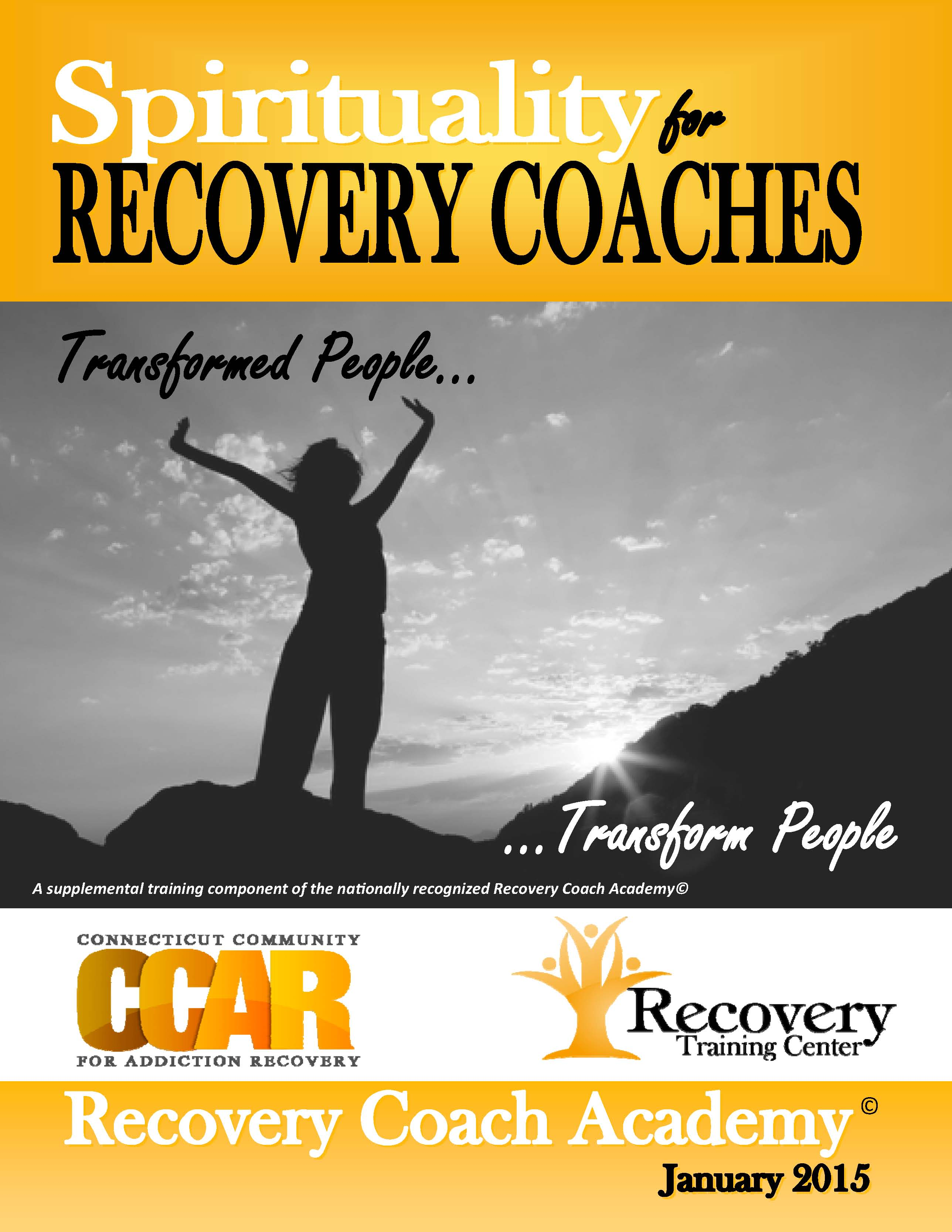 Spirituality Manuals Center For Addiction Recovery Training
