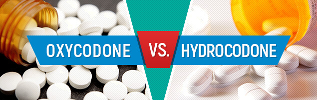 Image result for oxycodone vs hydrocodone