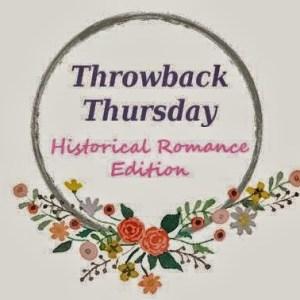 Throwback Thursday (75) Historical Romanc Edition: Taste of Sin