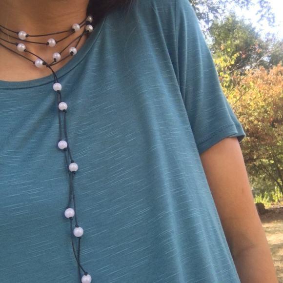 wrap necklace