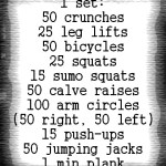 At Home Workouts: A Compilation