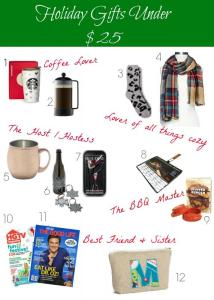 Gift Guide | Gifts under $25