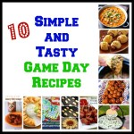 10 Simple & Tasty Game Day Recipes