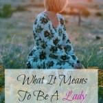 What it means to be a lady