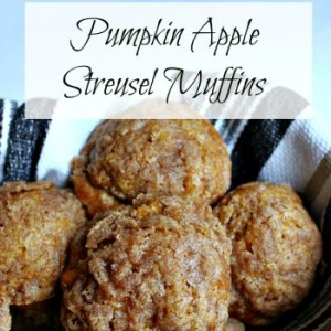 Pumpkin Apple Streusel Muffins: Muffin #8