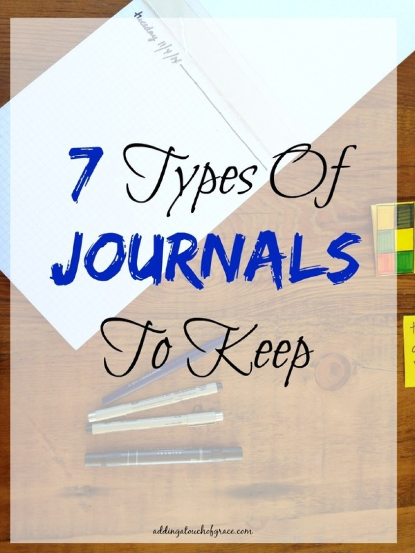 If you've thought about journaling but feel stuck, here are 7 types of journals to keep. They all make great ways to get your thoughts on paper.