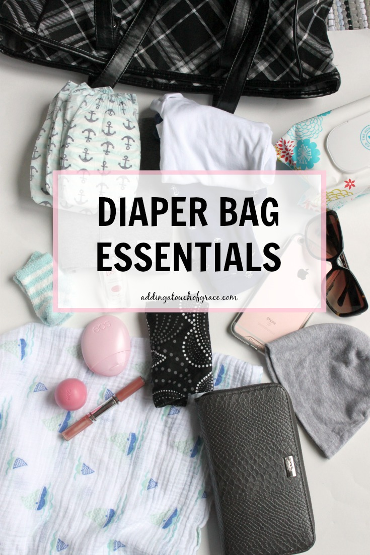 Not sure what to pack in your diaper bag? This post has you covered.