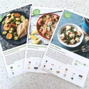 Easy Meal Prep with HelloFresh