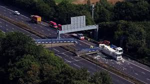 Bridge over the M20 Addington