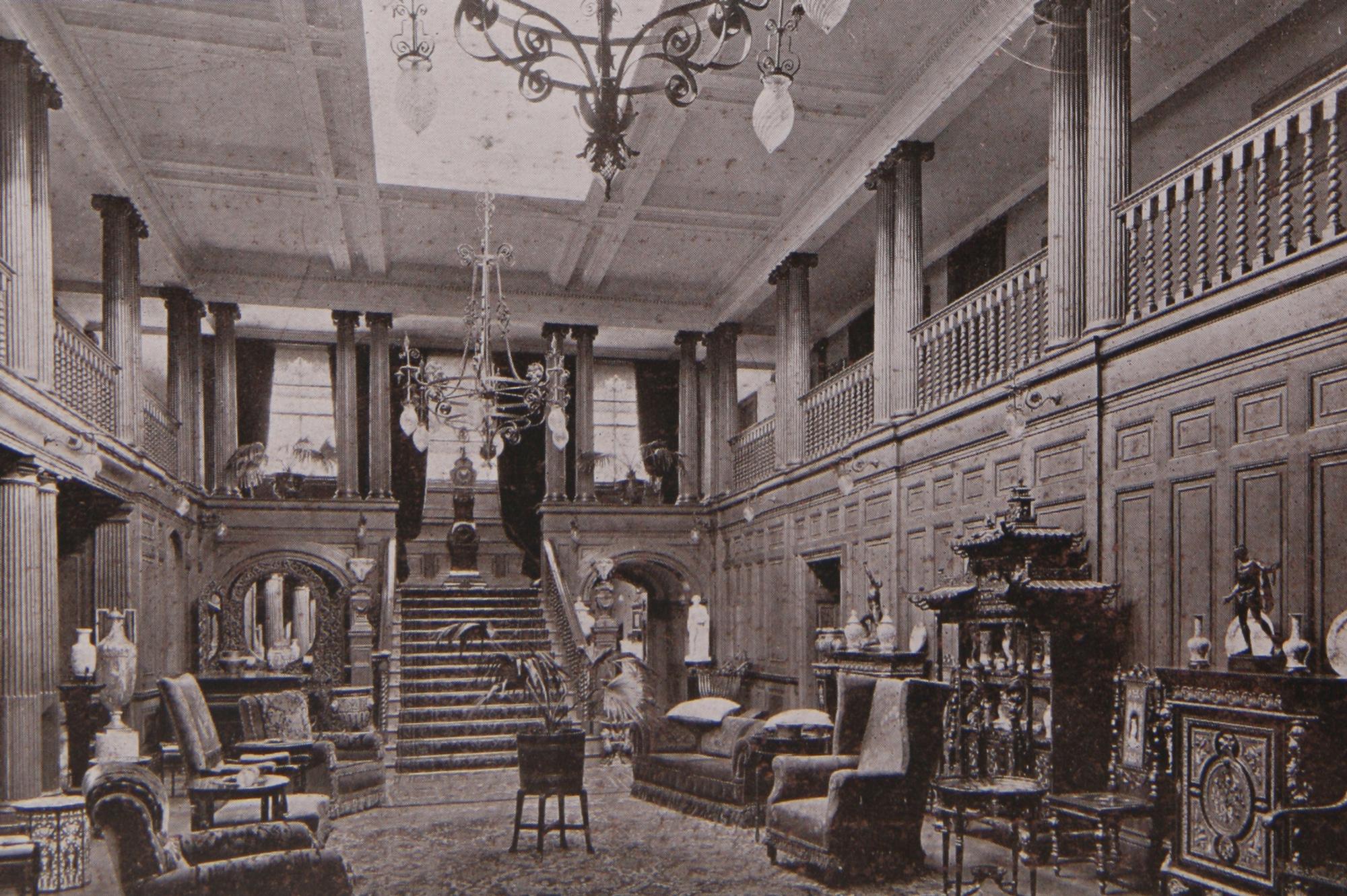 Addington Park interior the Hall