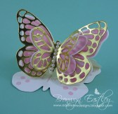 Bold Butterfly Easel Card