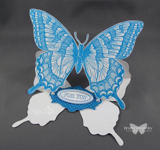 Swallowtail Easel Card