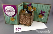 Z-Fold Planter Box Card