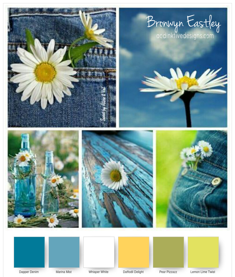 Colour Combinations for Daisy Delight - Part B