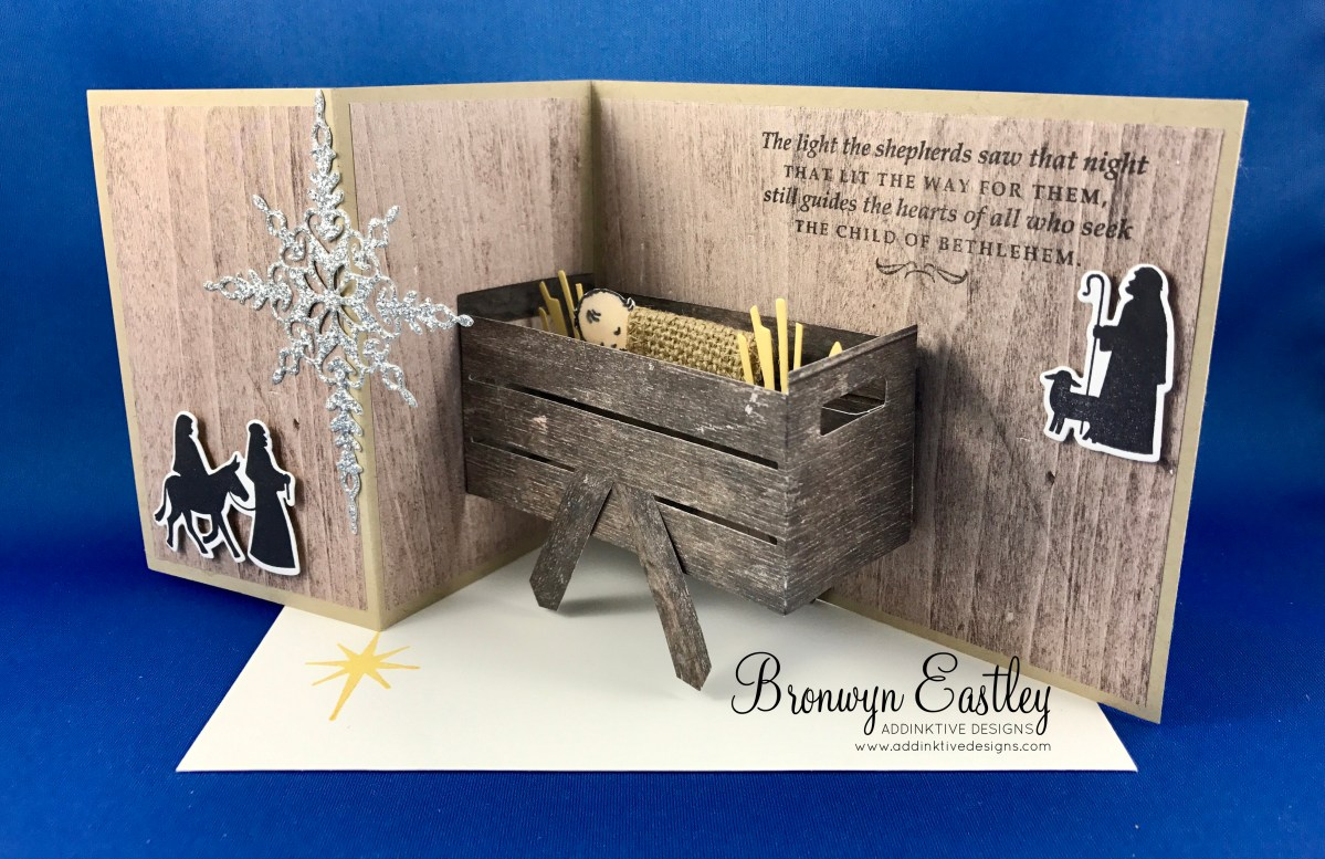 Child of Bethlehem Pop-Up, Z-Fold Card