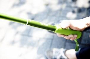 Bedienung über den Handgriff (Quelle: Rollei)