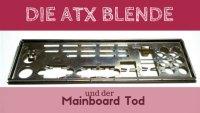 ATX Blende Mainboard PC Gehäuse Tech Blog Addis Techblog