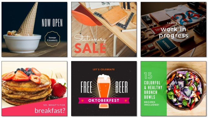 Canva Template Examples