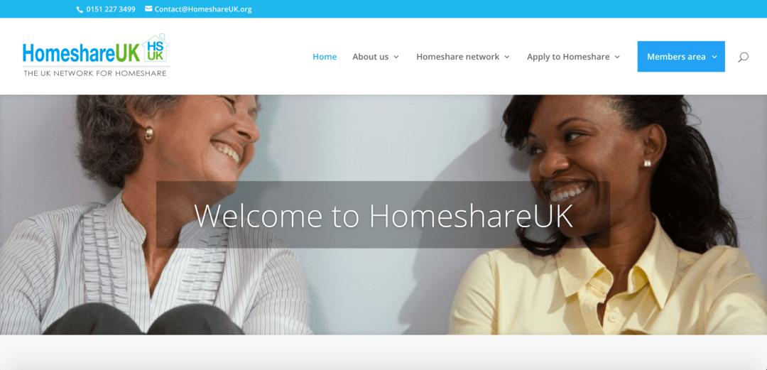 homeshare website