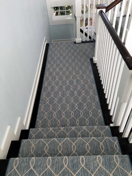 More Custom Carpets And Masterful Stair Runners Addison Dicus   Custom Stair Runners Near Me   Flooring   Basement Stairs   Staircase Makeover   Animal Print   Staircase Remodel
