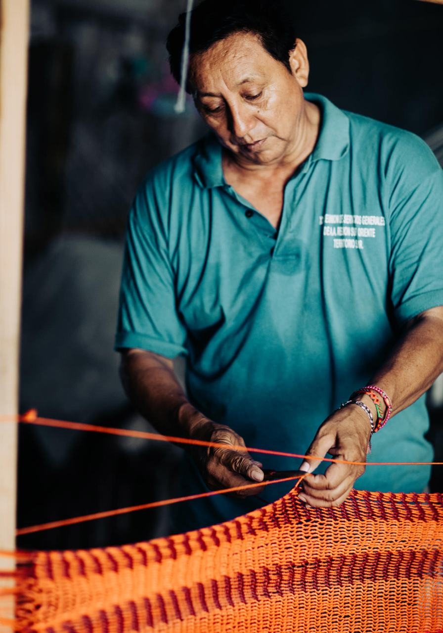 hammock-being-made-puerto-morelos-mexico