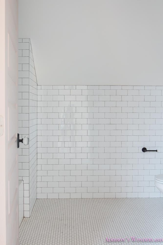 shaw floors white subway tile hexagon