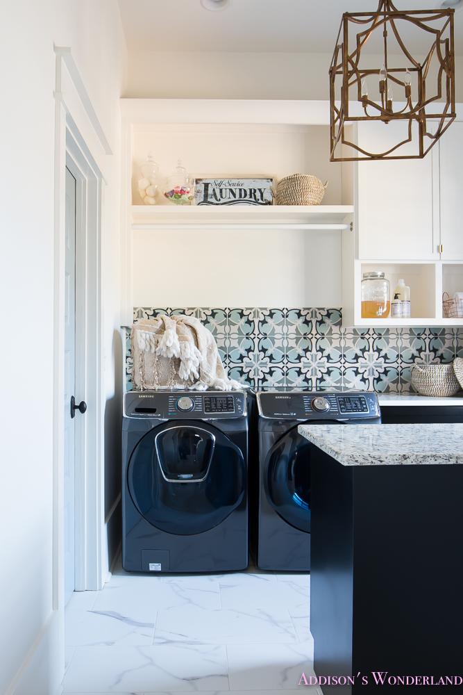 laundry room organization ideas white