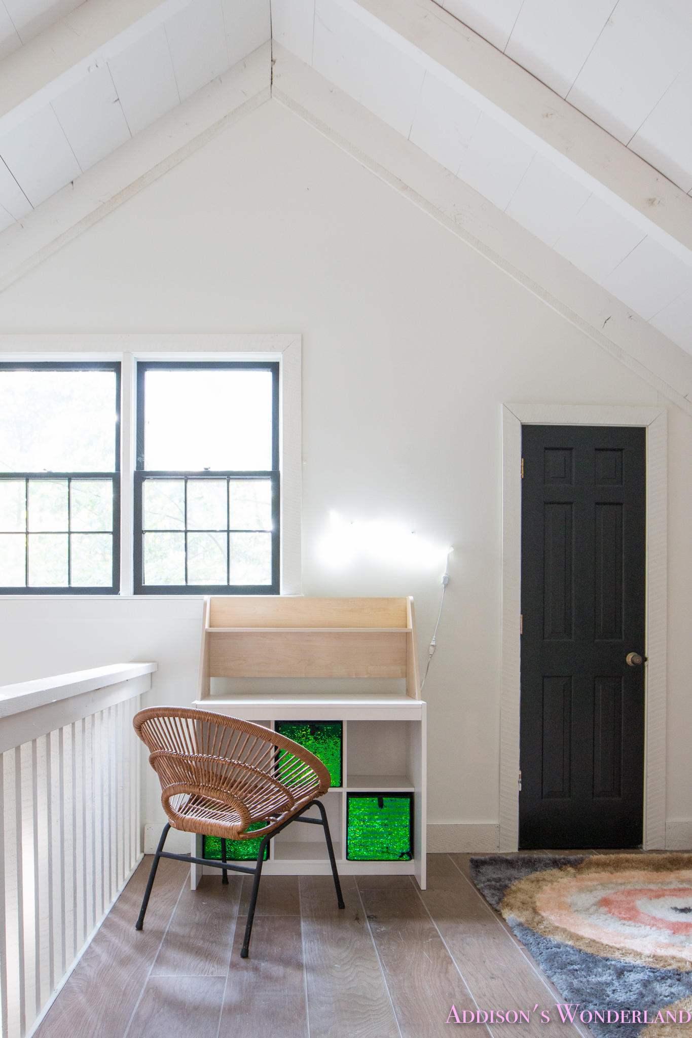 Our Cabin Loft Reveal with Wal Mart Home Decor  Room Details