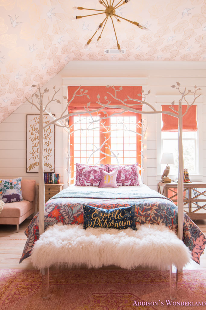 Creating A Beautiful Harry Potter Themed Bedroom For