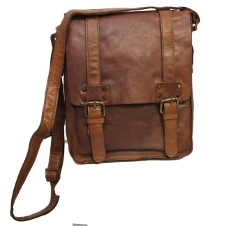 Ashwood Leather Messenger Bag