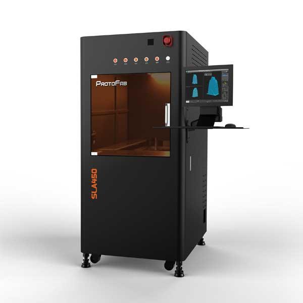 3d printers singapore Protofab SLA450 DLC