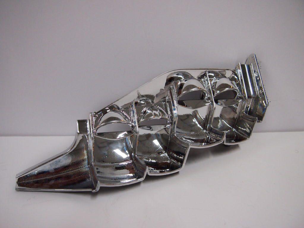 Metallized part