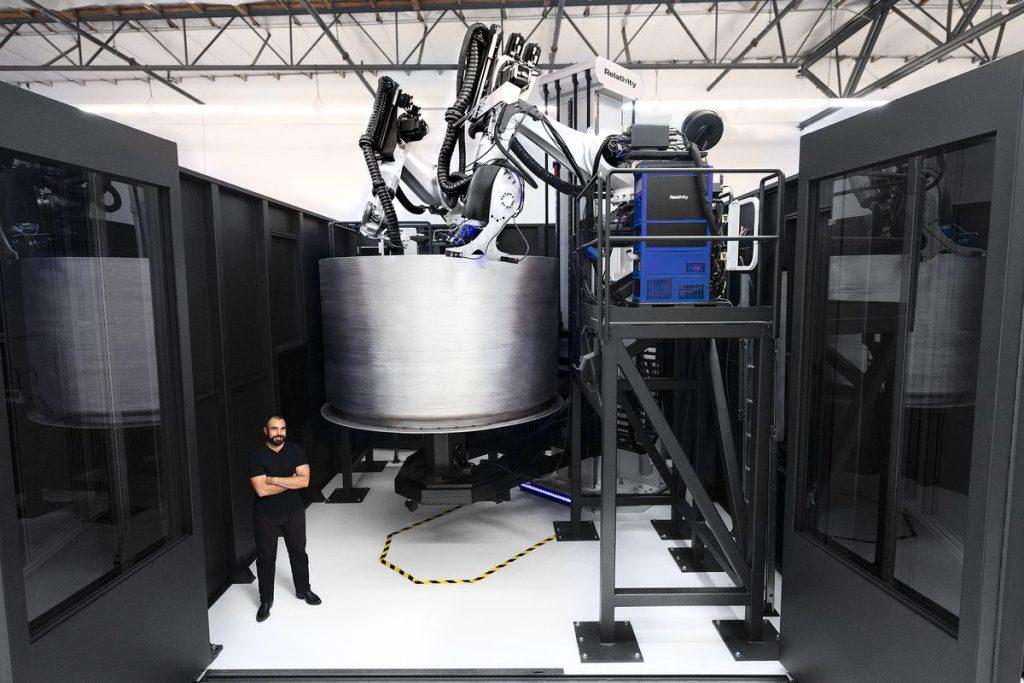 Massive 3D Printing Rocket