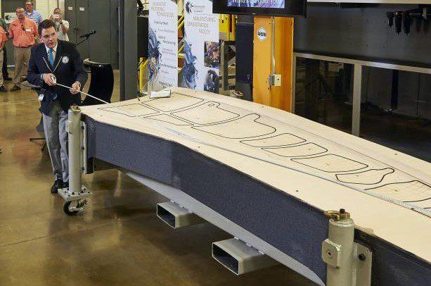 Massive 3D Printing Boeing 777x