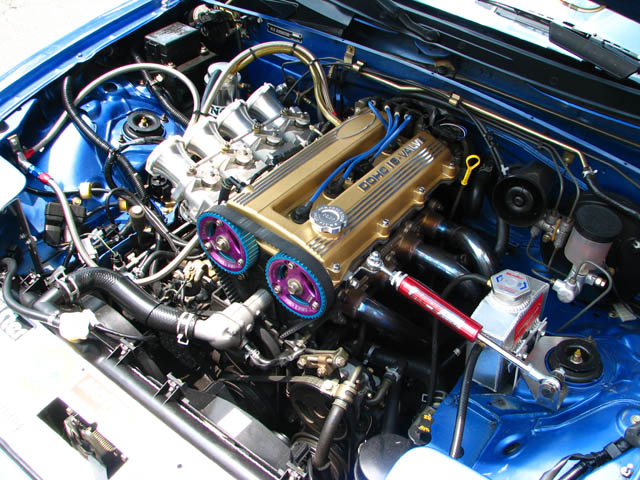 The Blue Potato HPI Engine Torque Damper