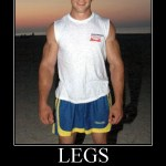 Are you suffering from Chicken Legs Syndrome ?