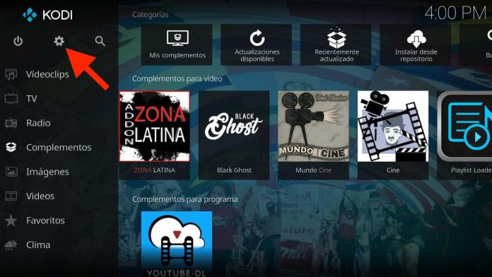 como activar addon golden tv latino kodi android