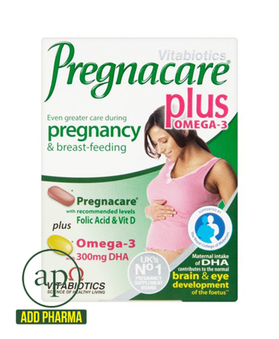 Vitabiotics Pregnacare Plus Omega 3 Dual - Pack of 56 Tablets