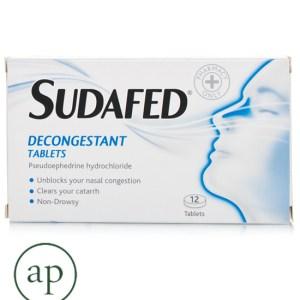 Sudafed Blocked Nose Capsules - 12 Capsules