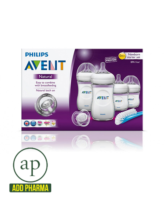 Avent Natural Newborn Bottle Starter Set