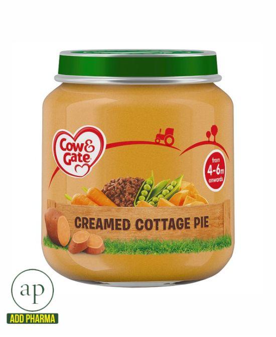 Cow & Gate Creamed Cottage Pie Jar 4 Mth+ - 125G