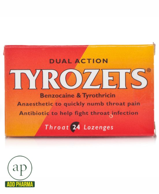 Tyrozets Lozenges 24 Lozenges