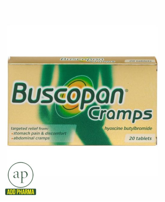 Buscopan Cramps Tablets - 20 Tablets
