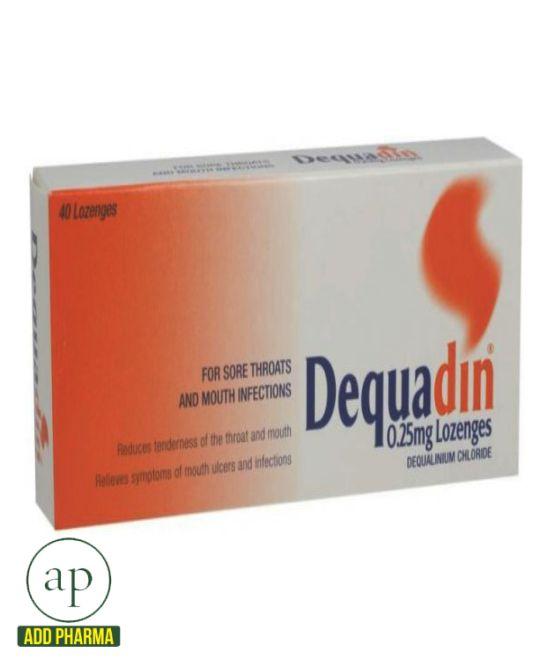 Dequadin - 20 Lozenges