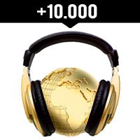 Comprar 10.000 reproducciones internacionales en Spotify