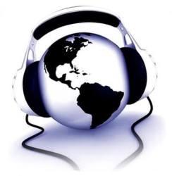 Planeta escuchando música