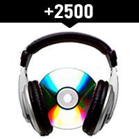 Comprar 2500 reproducciones locales en Spotify