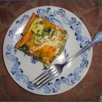 Much needed victory: Tuna and broccoli quiche