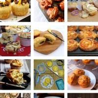Recipe Roundup: 12 Savoury Muffins
